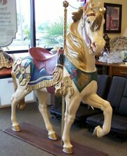 """Full Size Carousel Horse Stander 62"""" Tall! Custom Made/Hand Painted *Free S&H*"""