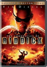 New Sealed} The Chronicles of Riddick Unrated Director's Cut Widescreen Dvd 2004