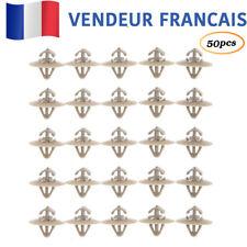 50x Agrafe Rivet Clip Moulure Panneau pour Renault Trafic Nissan Vauxhall Vivaro