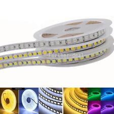 Светодиодная лента 5050 5 м 600LED супер яркая светодиодная лента света 120LED/M 10 мм печатная плата 12 В