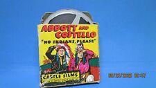 "Abbott and Costello ""No Indians Please"" 16mm Film Movie No. 808 Castle Films"