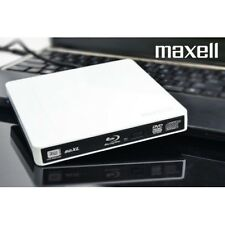 3D BD-XL Quad Layer Blu-ray BluRay Writer Burner External USB Portable PC MAC TV