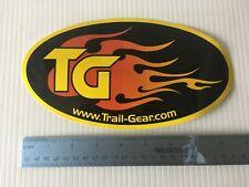 Trail Gear decal sticker.  23x13cm  large oval  4x4 OffRoad     Llama 4x4