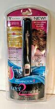 Remington wet 2 straight hair straightener Seca y Alisa extralong cosmetic plate