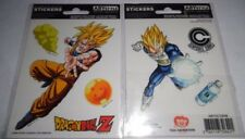 AbyStyle - Stickers - DBZ 16x11cm Son Goku & Vegeta - Dragon Ball Z