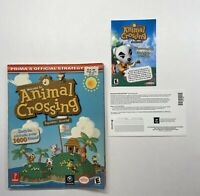 Original Animal Crossing Strategy Guide Prima's Official Nintendo GameCube Prima