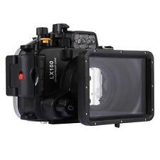 40m Waterproof Underwater Housing for Panasonic LUMIX DMC-LX100 Camera