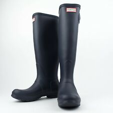 NIB HUNTER Navy Original Tall Rain Boots Shoes Size US 6 UK 4 EU 37