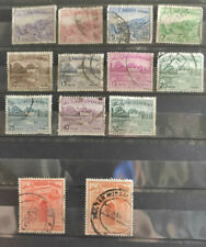 Pakistan 1961 definitives 13 stamps USED