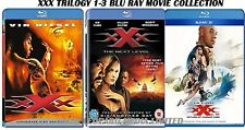 XXX TRILOGY 1-3 BLU RAY MOVIE COLLECTION PART 1 2 3 FILM VIN DIESEL ICE CUBE UK