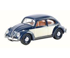 SCHUCO 26223 - 1/87 VW KÄFER - BLAU / WEISS - NEU