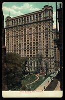 New York, NYC Trinity Building American News Company Vintage unused Postcard ny2