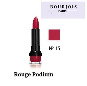 Bourjois Lipstick Rouge Edition 10H Hydrating Gloss Finish-15 Rouge Podium