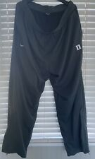 Nike Men's Duke Blue Devils Anthracite GRey Basketball Warm Up Pants 4XL NWOT
