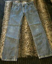 Boy's Levi's 511 Skinny Blue Denim Jeans 28x28~ size Reg 16