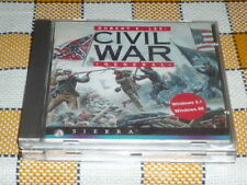 PC CD ROM CIVIL WAR Robert Lee - General used RARE OOP Sierra