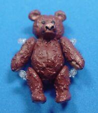 "Heidi Ott  Dollhouse Miniature 1:12 Scale Metal Bears 1.25"" Movable  #XZ236 BR"