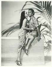 MARIA MONTEZ  JON HALL ARABIAN NIGHT 1942 VINTAGE PHOTO N°2