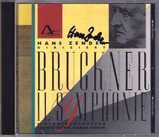 Hans ZENDER Signiert BRUCKNER Symphony No.2 Haas Edition AMATI CD Baden-Baden