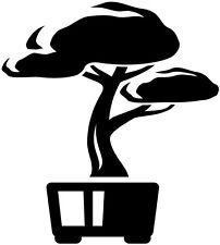 "12"" BONSAI LITTLE TREE JAPAN ASIAN STYLE DECOR WALL ART VINYL DECAL STICKER #3"