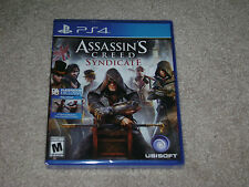 ASSASSIN'S CREED SYNDICATE...PS4...***SEALED***BRAND NEW***!!!!!!!