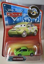Disney Pixar Cars Final Lap Collection #142 NICK STICKERS NEW