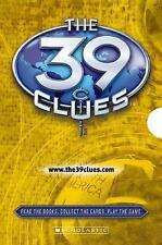 NW 39 Clues Boxed Set Book 4 5 6 Card Pack Beyond Grave Black Circle In Too Deep