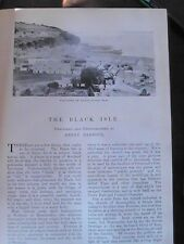 The Black Isle Cromarty Scotland Highlands Avoch Rare Old Edwardian Article 1902