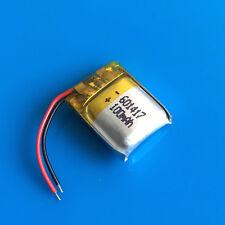 3.7 V 100 mAh batteria ai polimeri di Li Po per MP3 Penna video Cuffie Bluetooth MP4 601417