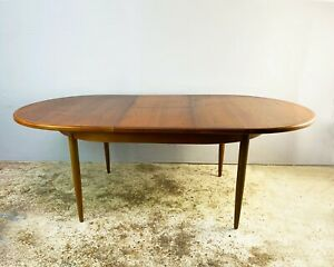 1970's G Plan mid century extending dining table