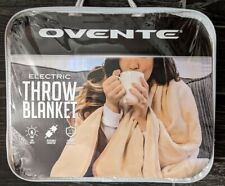 Ovente Electric Throw Blanket Brand New