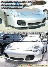 OE-Style Front Lip (Urethane) Fits Porsche 996 911 Turbo Carrera 4S