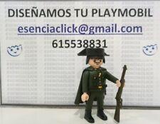 GUARDIA CIVIL VETERANO CON CAPA Y TRICORNIO PLAYMOBIL - PRECIO POR UNIDAD