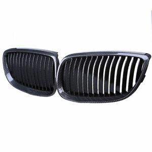 Front Carbon Fiber Color Grill Grille for BMW E92 E93 M3 328i 335i Coupe 07-10