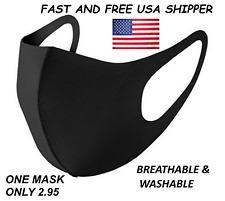 LOT 1/ 5 /10/ 20 PCS Reusable, Breathable Face Masks, Fast USA Shipper