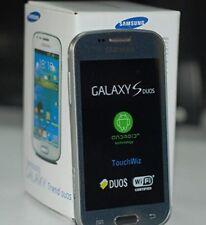Samsung Galaxy S Duos GT-s7572 Nero Trend II Dual SIM Smartphone Sbloccato