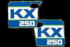 1988 Kawasaki KX 250 Radiator Shroud Decals