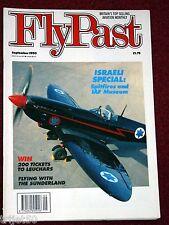 Flypast 1990 September Israel Spitfire,Piper L4 Cub