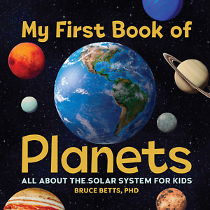 Kids Solar System Book Educational Planets Reading Children Space Learning Books