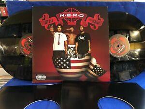 NERD FLY OR DIE PHARRELL WILLIAMS 2LP ORIGINAL USA LP EXC++