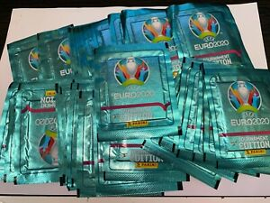 2020 Panini Euro Cup sticker Tournament Edition 50 sealed packs England France