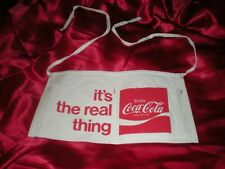 "NEW RARE  ENJOY COCA COLA ""ITS THE REAL THING"" CHANGE APRON"