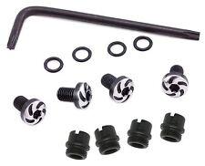 1911 grip screws complete kit, torx spiral screws, washers, bushings & Torx key