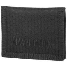 Maxpedition Agr Bajo Cartera Hombre Hex Nylon Ripstop Efectivo Bolsillo Negro
