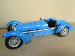 229P Burago 3005 Italia Bugatti Tipo 59 Blu 1934 Scala 1:18 Bburago Die Cast