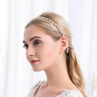 Wedding Accessories Bride Hairband Manual Alloy Insert Drilling Hair Decoration