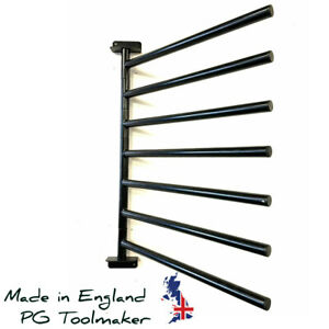 7 Arm Equestrian Rug Rail Rack - Various Colours - Stable Hanger Tack Room Horse