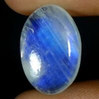100%.NATURAL RAINBOW MOONSTONE OVAL CABOCHON TOP QUALITY LOOSE GEMSTONES GS-61