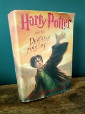 Harry Potter and the Deathly Hallows - 1st Edition - US Edition - Hardback - JKR