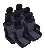 7x Sitze Auto Sitzbezug Sitzbezüge Schonbezüge Schonbezug für Peugeot